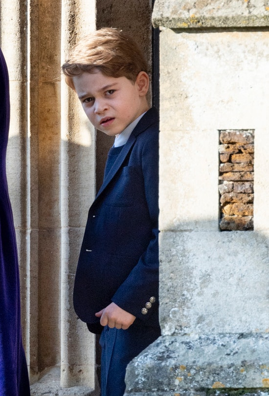 Prince George is third in line to the throne.