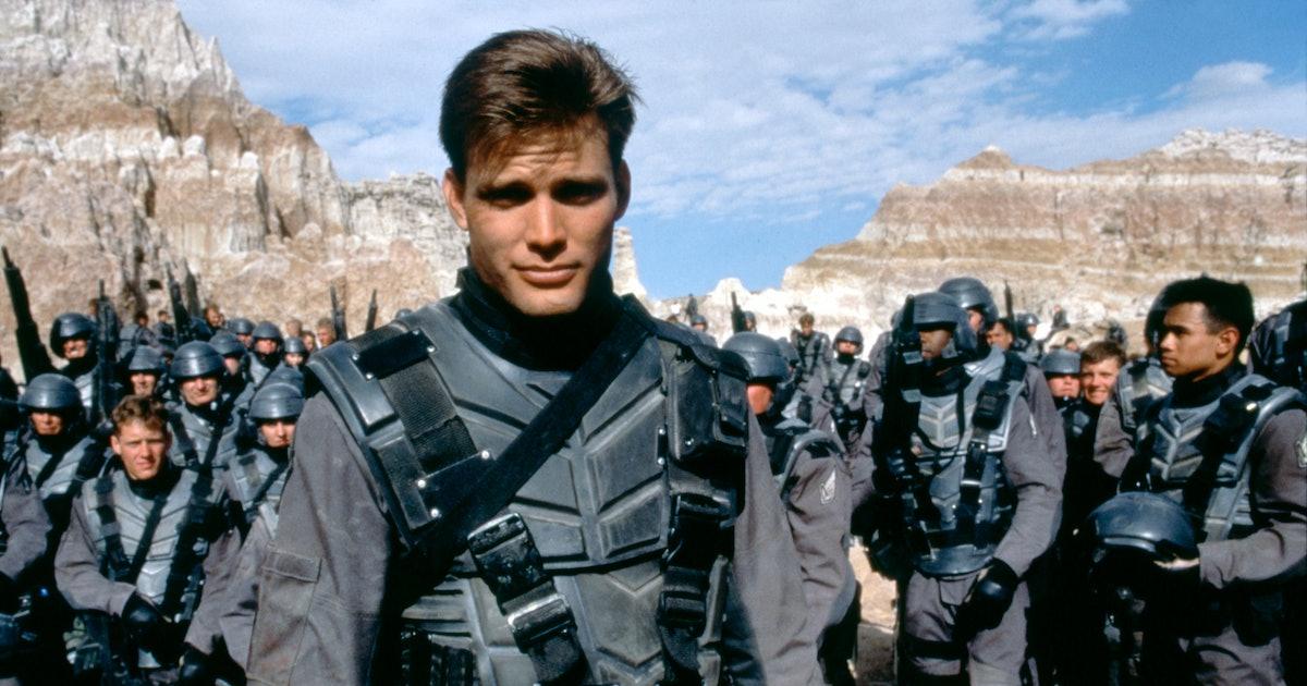Casper Van Dien has a genius idea for a 'Starship Troopers' streaming series