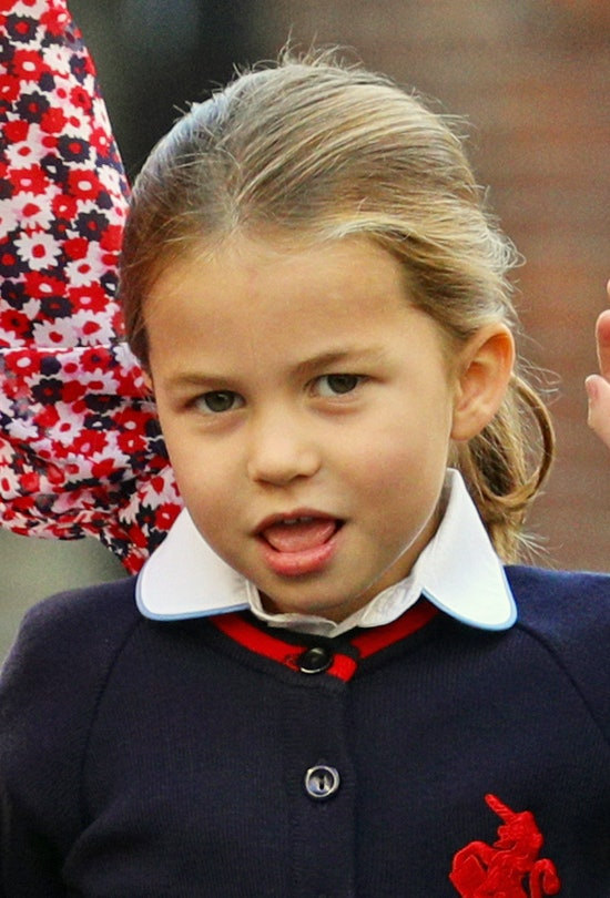Princess Charlotte is fourth in line to the British throne.