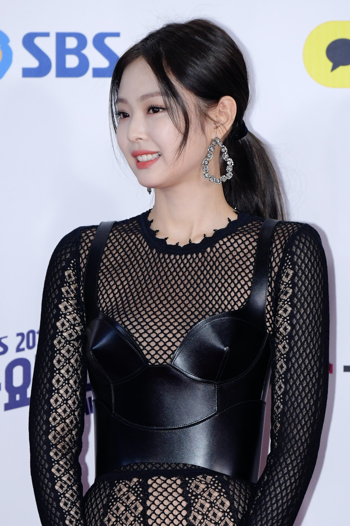 Jennie from BLACKPINK hits the red carpet.