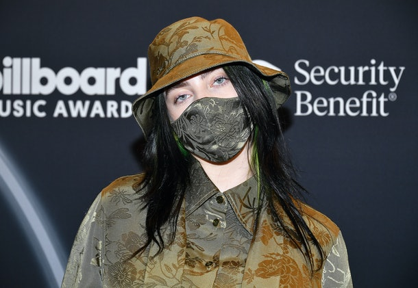 Billie Eilish attends the Billboard Music Awards.