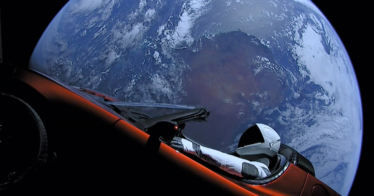 Where is Starman? Tesla Roadster embarks on third — loneliest — orbit around the Sun
