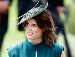Princess Eugenie named her infant son August in Feb. 2021.