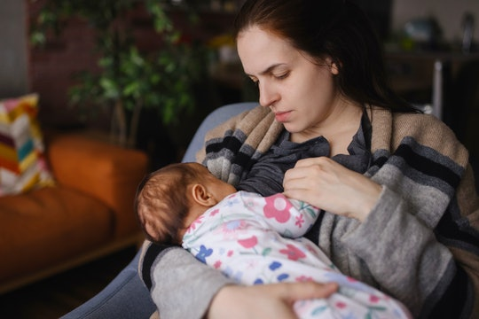 Eating spicy food won't directly affect your breast milk.