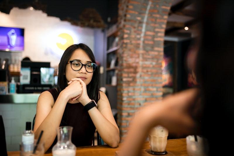 conversation, dining