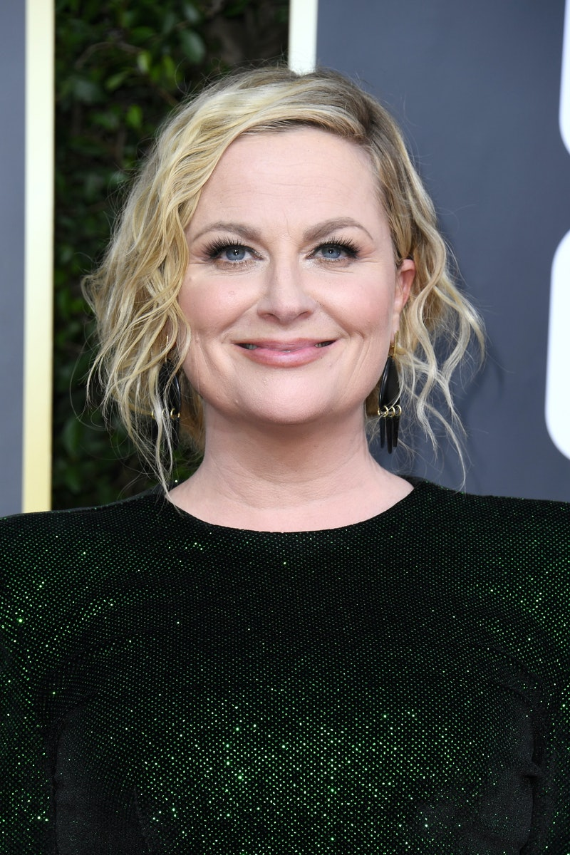 Amy Poehler at the 2020 Golden Globes. Photo via Getty Images