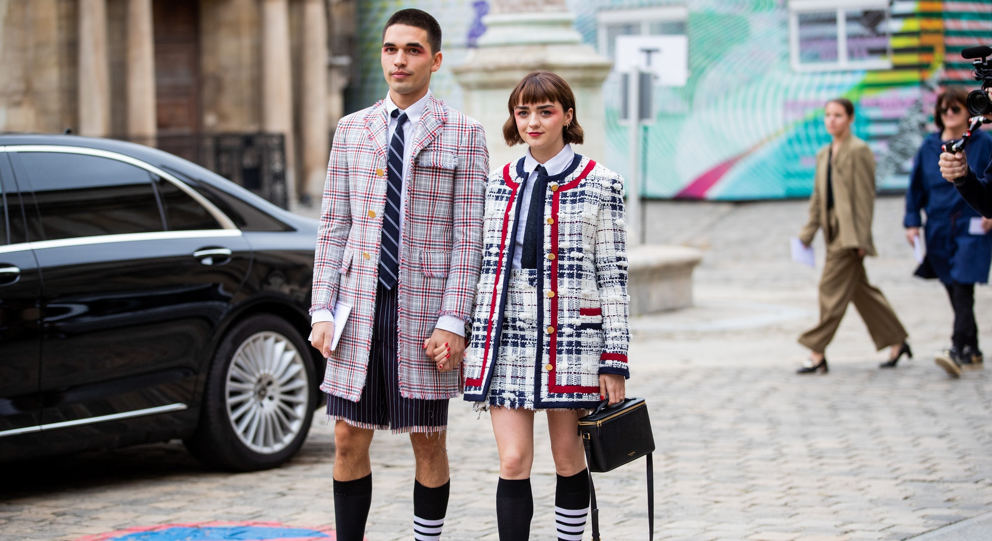 Maisie Williams & Reuben Selby Are Among The Best-Dressed Celebs Of The Week