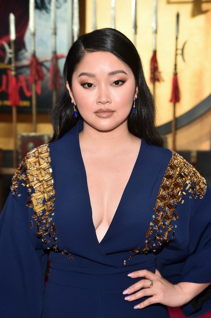 Lana Condor's Peachy-Pink Wig Is The Cutest Spring Look.