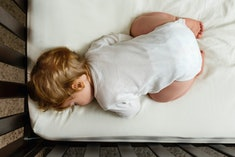 Your baby is fine to sleep with their butt in the air, as long as you follow safe sleep practices.