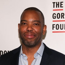 Ta-Nehisi Coates in 2018 at an event for The Gordon Parks Foundation. Photo via Getty Images