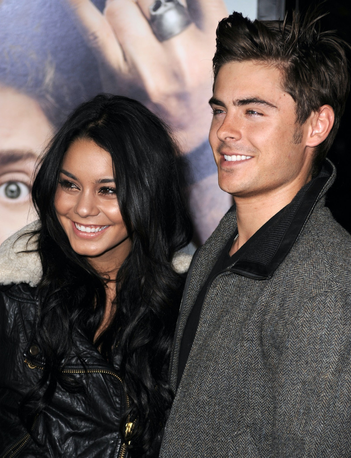 Zac Efron and Vanessa Hudgens hit the red carpet.