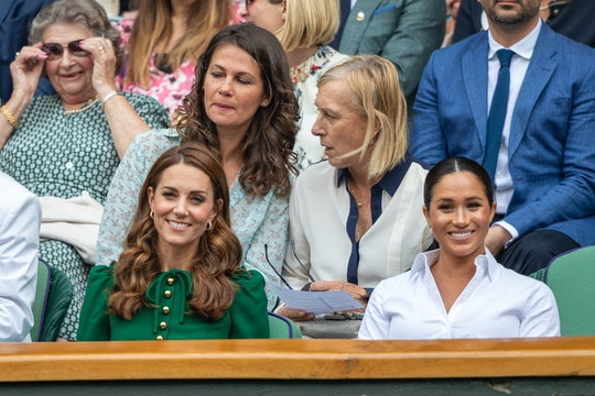 Meghan Markle did not snub Kate Middleton.