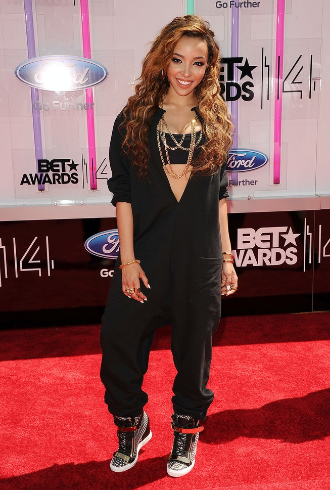 Tinashe in 2014, BET Awards