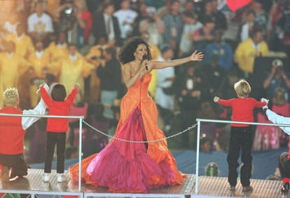 Here are the best Super Bowl halftime show outfits, including Diana Ross's.