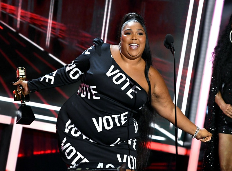 Lizzo shares a powerful message about self-love. Photo via Getty Images