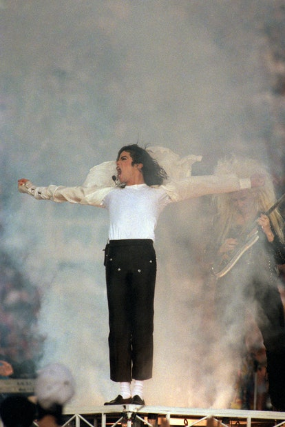 Here are the best Super Bowl halftime show outfits, including Michael Jackson's.
