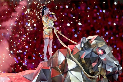 Here are the best Super Bowl halftime show outfits, including Katy Perry's.