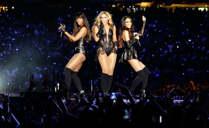Here are the best Super Bowl halftime show outfits, including Destiny Child's.