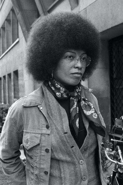 Civil Rights activist Angela Davis