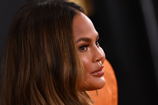 Chrissy Teigen shared in a tweet that she was due to give birth to son Jack this week.