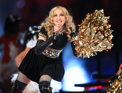 Here are the best Super Bowl halftime show outfits, including Madonna's.