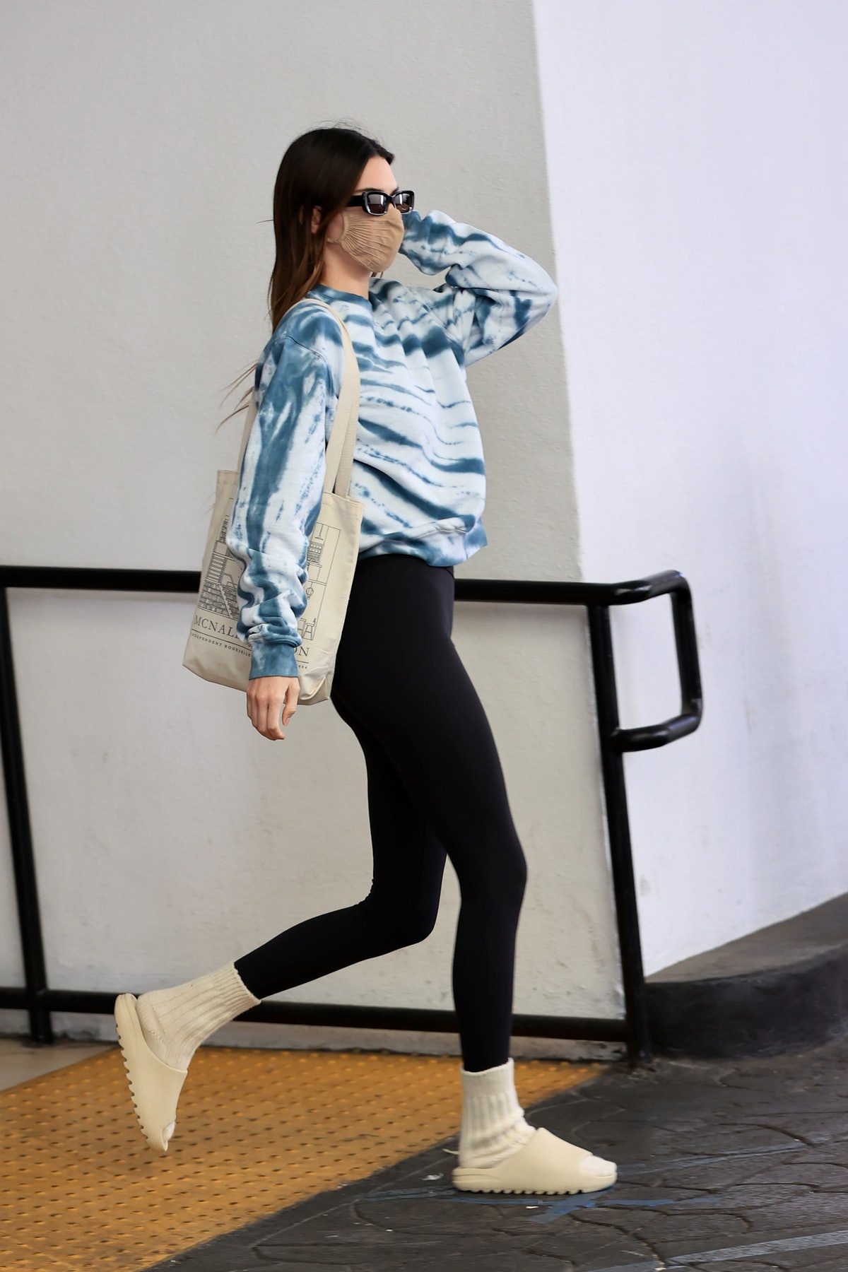 Kendall Jenner is seen on February 3, 2021 in Los Angeles, California.