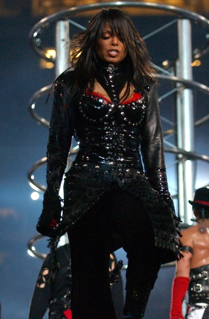 Here are the best Super Bowl halftime show outfits, including Janet Jackson's.