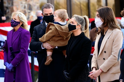Biden grandchildren, including baby Beau, will be welcome in the White House.