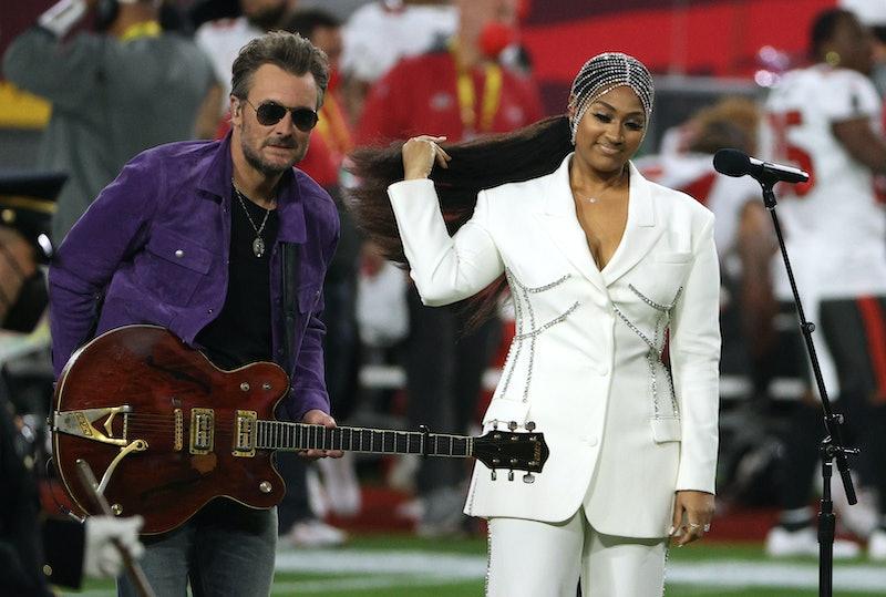 Jazmine Sullivan's Super Bowl Look Has A Powerful Hidden Meaning