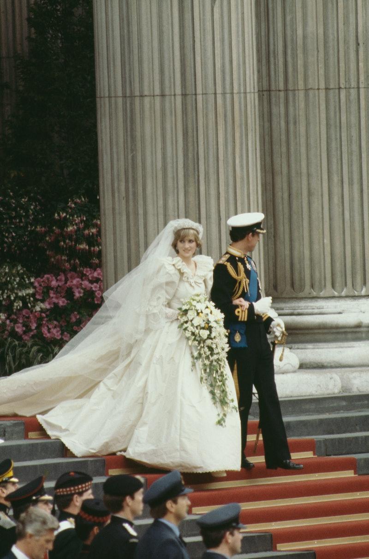 Princess Diana had a second wedding dress made in secret.