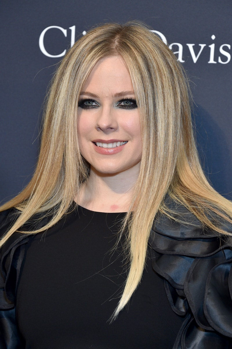 Avril Lavigne. Photo via Getty Images