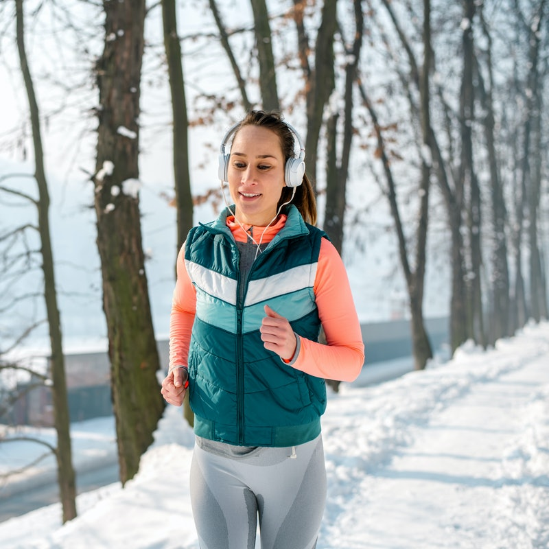 Winter running. Photo: bluecinema/E+/Getty Images