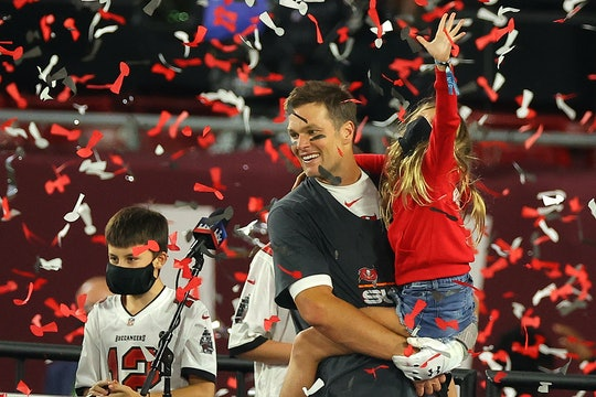 Tom Brady celebrated his Super Bowl win with his three kids.