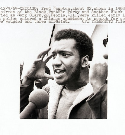 Former Black Panther Party Deputy Chairman Fred Hampton.