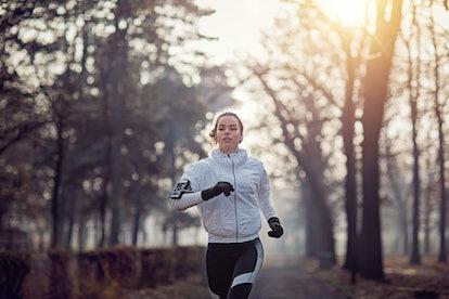 Winter running. Photo: praetorianphoto/E+/Getty Images