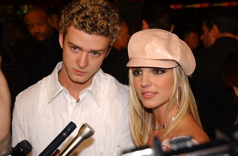 Britney Spears and Justin Timberlake. Photo via Getty Images