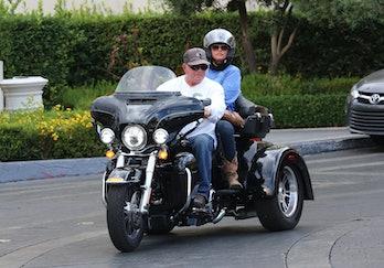 William Shatner and his wife Elizabeth in June 2015.