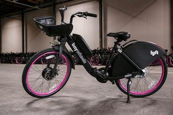 Lyft electric bike.
