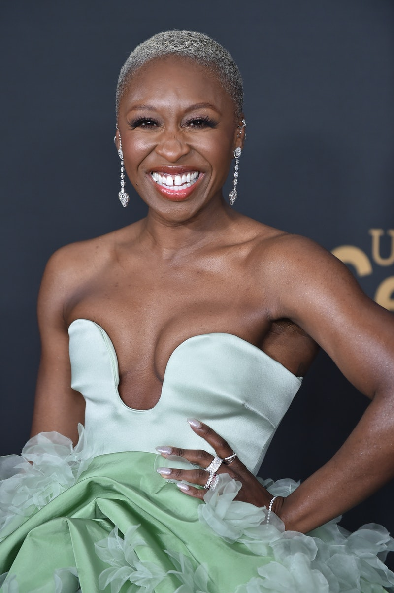 Cynthia Erivo's neon green Golden Globes 2021 look was a red carpet standout.
