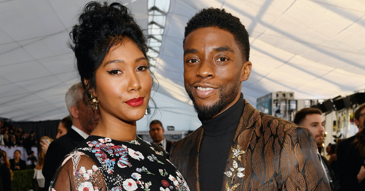 Chadwick Boseman's Wife Gave The Most Powerful Tribute At 2021 Golden Globes