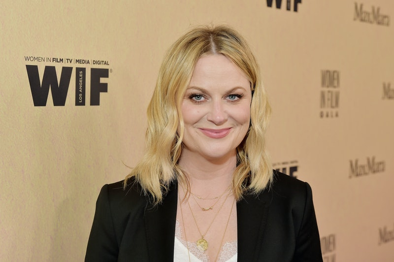 Amy Poehler's Golden Globes 2021 Outfit Is Peak '90s Fashion
