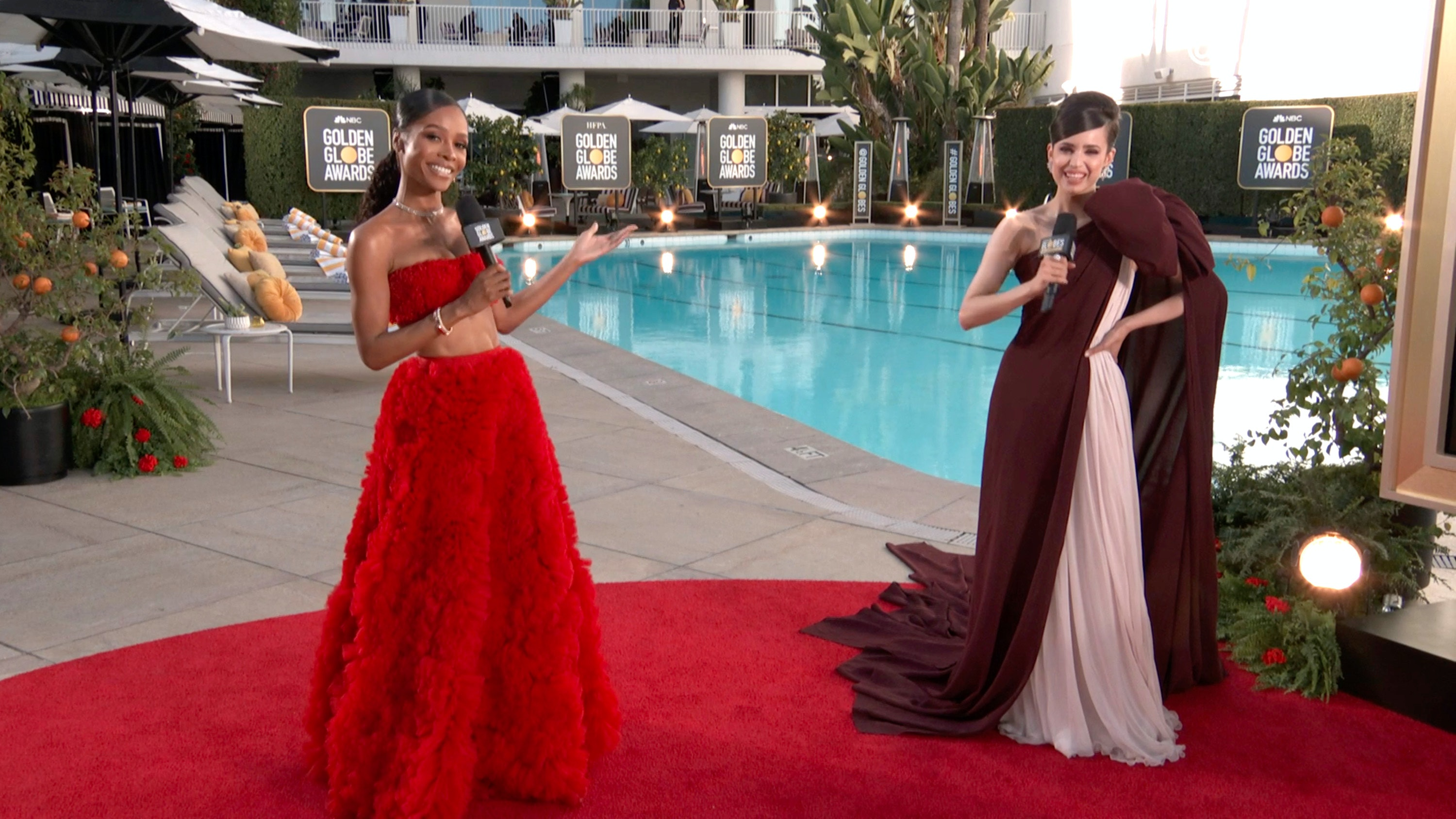 Golden Globes 2021 Red Carpet Looks You'll Want To Copy Stat