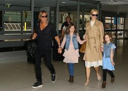 Nicole Kidman's rarely seen daughters make an appearance
