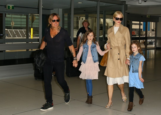 Nicole Kidman's rarely seen daughters make an appearance