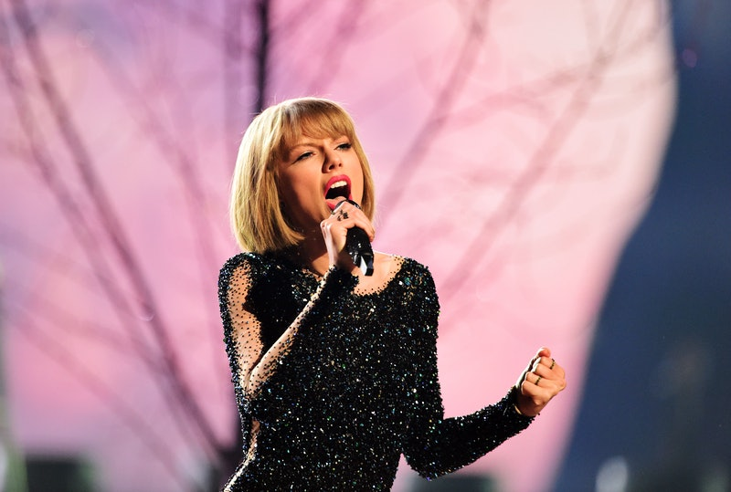 Taylor Swift performs on stage during the 58th Annual Grammy Awards in Los Angeles, California on February 15, 2016. AFP PHOTO / ROBYN BECK / AFP / ROBYN BECK        (Photo credit should read ROBYN BECK/AFP via Getty Images)