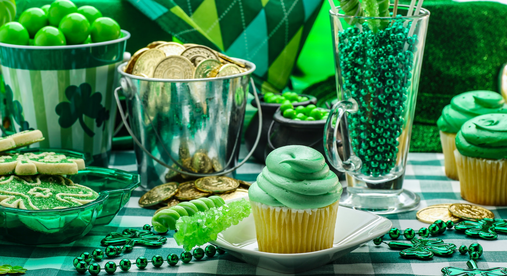 Sweet green treats for St. Patrick's Day are a great way to celebrate.