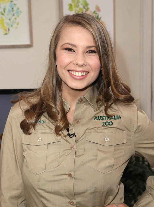 """UNIVERSAL CITY, CA - APRIL 24:  Conservationist/TV personality Bindi Irwin visits Hallmark's """"Home & Family"""" at Universal Studios Hollywood on April 24, 2018 in Universal City, California.  (Photo by David Livingston/Getty Images)"""