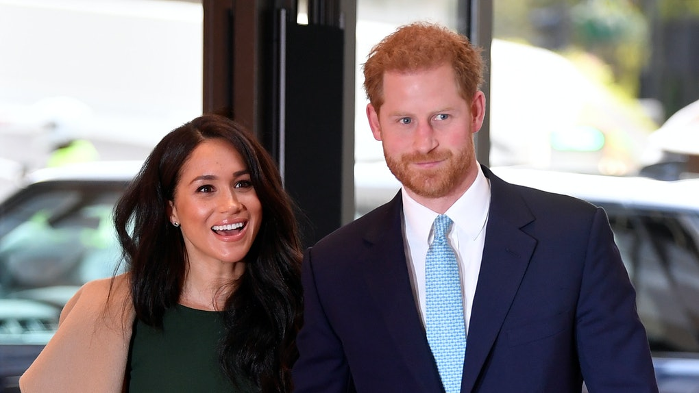 LONDON, ENGLAND - OCTOBER 15: Prince Harry, Duke of Sussex and Meghan, Duchess of Sussex attend the WellChild awards at Royal Lancaster Hotel on October 15, 2019 in London, England. (Photo by Toby Melville - WPA Pool/Getty Images)