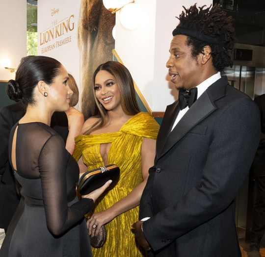 """Beyoncé thanked Meghan Markle for her """"courage"""" after Oprah interview."""