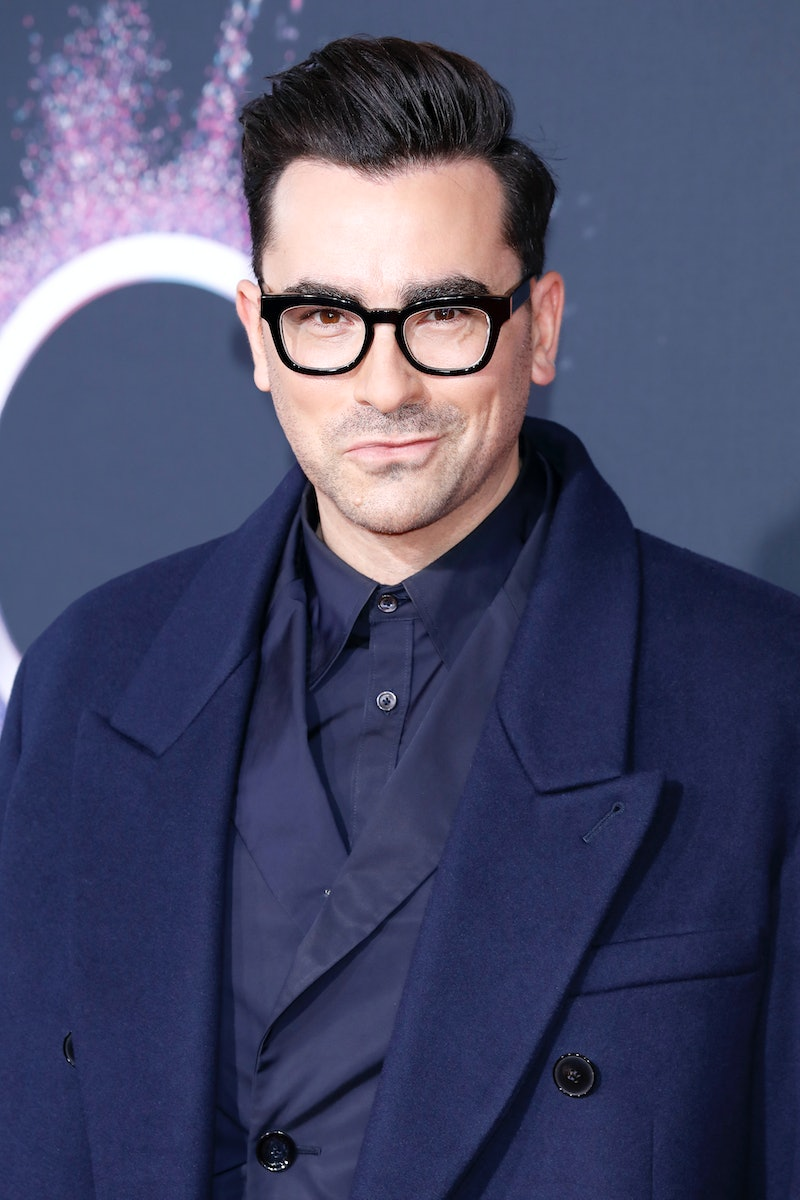 LOS ANGELES, CA - NOVEMBER 24: (EDITORS NOTE: Image has been digitally retouched) Daniel Levy (Dan Levy) arrives at the 2019 American Music Awards at the Microsoft Theater on November 24, 2019 in Los Angeles, California.  (Photo by Kurt Krieger - Corbis/Corbis via Getty Images)